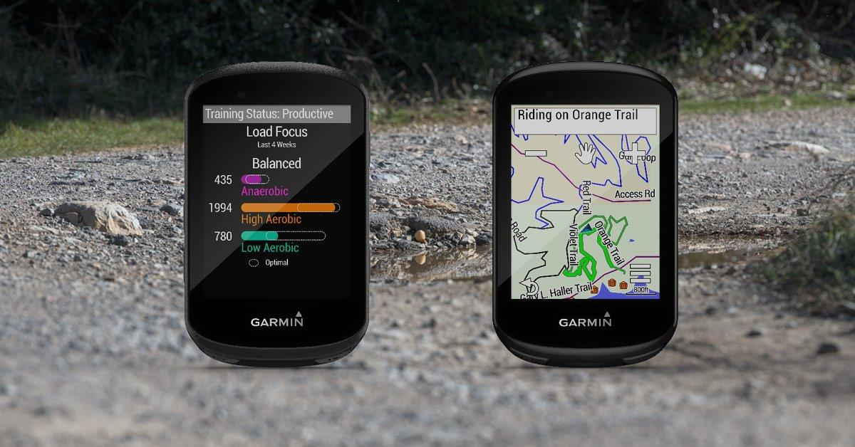 Garmin edge 530 and Garmin edge 830