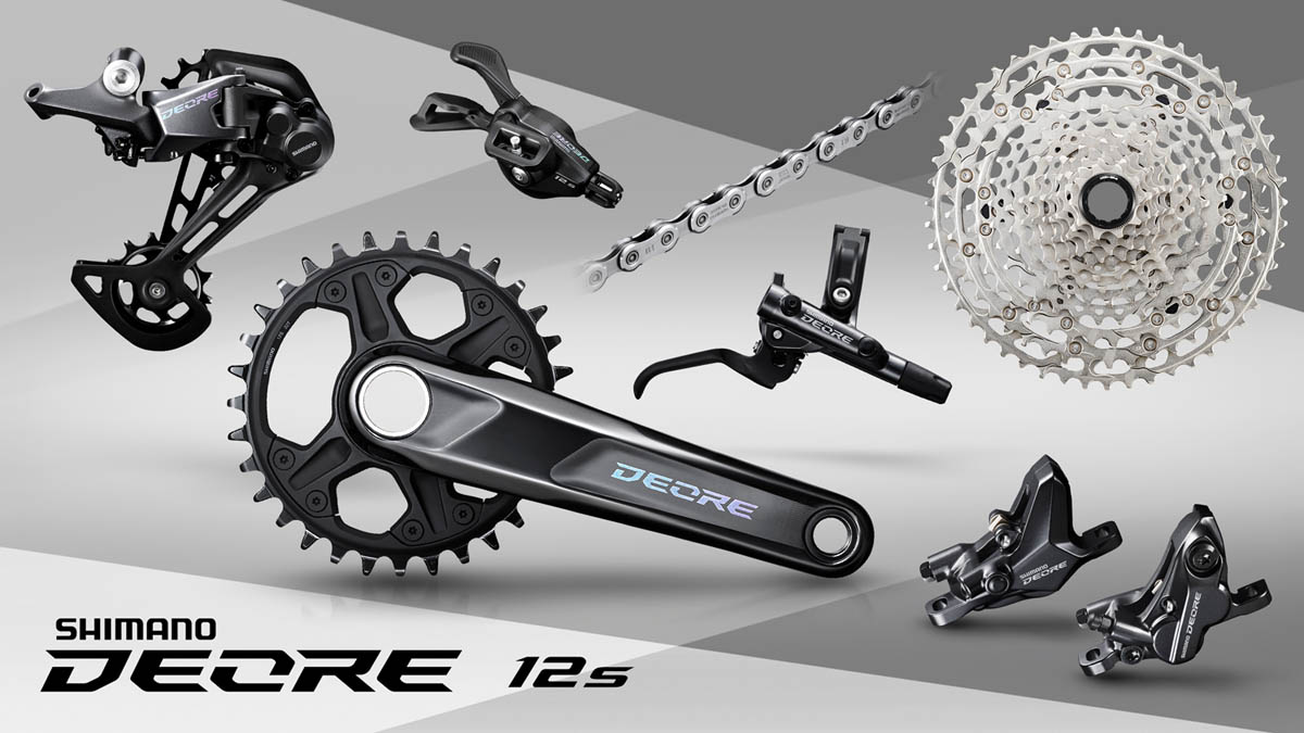 Shimano release entry-level Deore 12-speed groupset