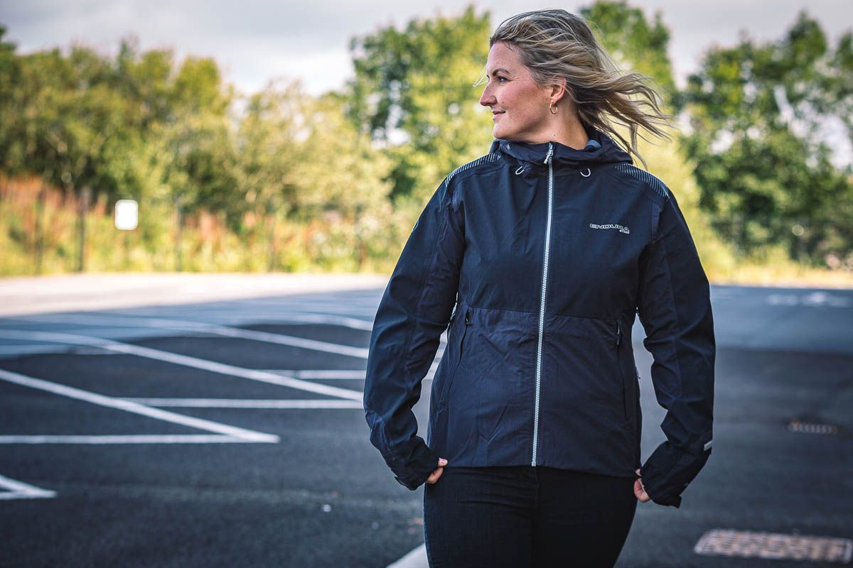 Lyn wearing the new MT500 jacket from Endura