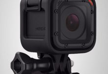 GoPro helmet camera