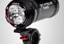 Exposure bike light