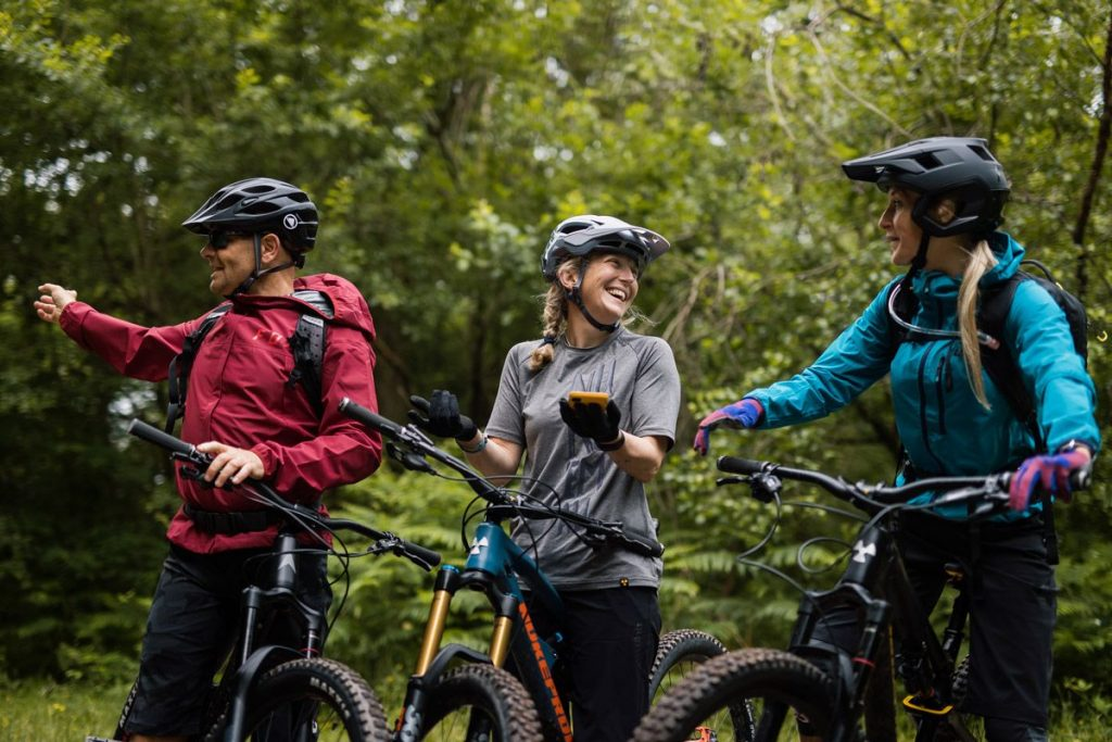How not to behave on your mountain bike - etiquette on the trails
