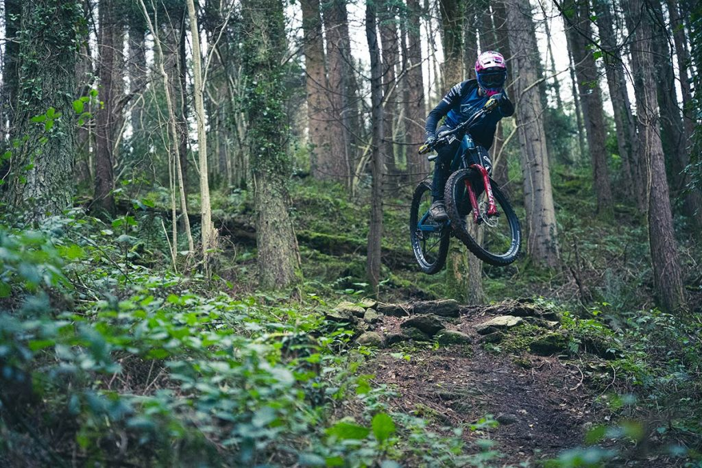 Kelan Grant riding on the new Horizon wheels