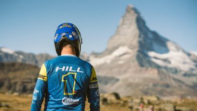 Sam Hill in Zermatt