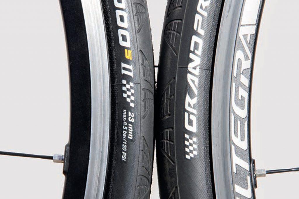 Top 6 beginner road bike upgrades- Tyres