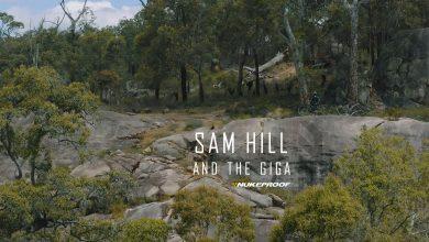 Sam Hill riding the Nukeproof Giga