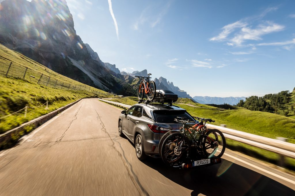 Peruzzo bike racks in action (Pic by Peruzzo)