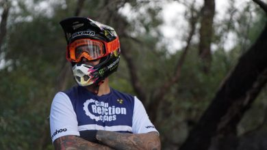 Team Chain Reaction Cycles rider Sam Hill (pic by Leighton Madden)
