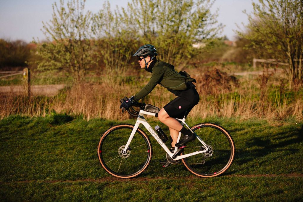 Gravel bike wheels